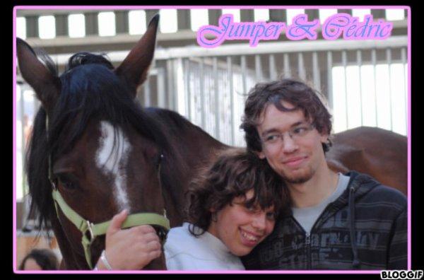 Les 2 Amours de ma vie !!! Cédric & Jumper <3