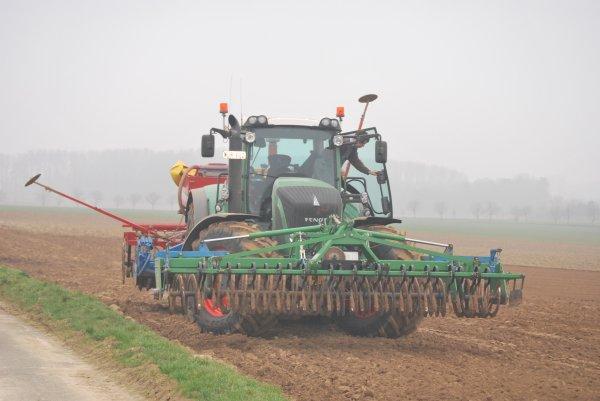Plantation pois fendt 936 vario