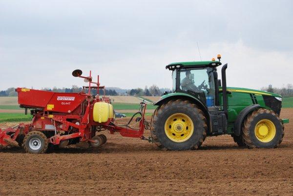 Plantation pomme de terre john deer Serie 6R 7R et 8R 1ére partie