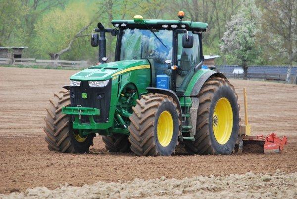 Plantation pomme de terre john deer Serie 6R 7R et 8R 2éme partie
