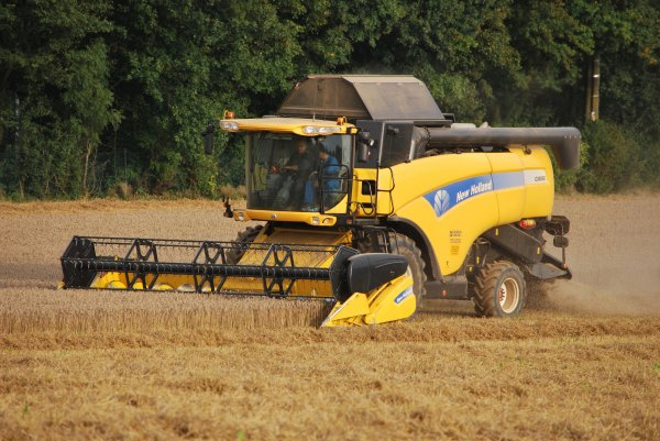 New holland CX 8060 et 8070