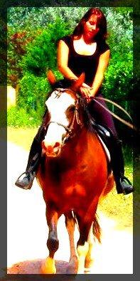 L'amour c'est toujours emporter quelqu'un sur un cheval.