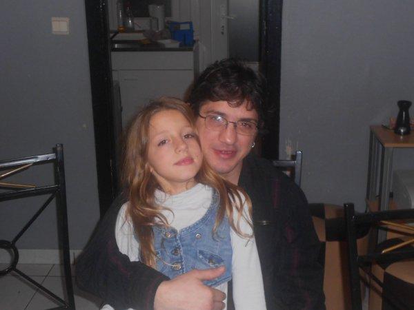 serena et son papa d'amour