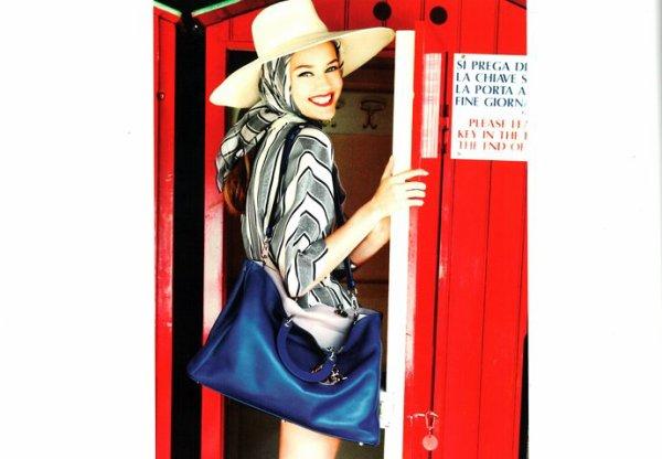 Monika Jagaciak: Dior Cruise '12