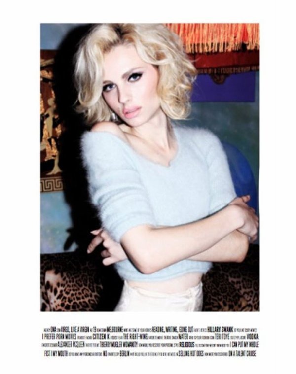 Andrej Pejic: LoveCat Issue 2