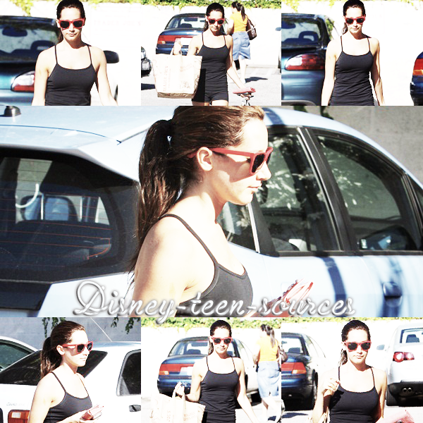 27 juin , Miley fait du shopping à Sydney + 26 juin , Ashley à Toluca Lake