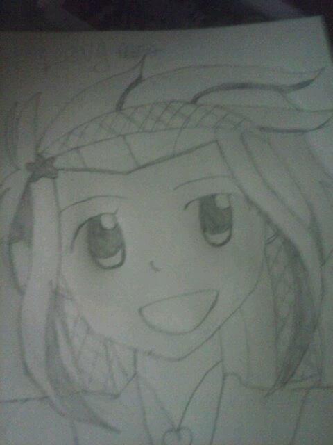 Mon premier dessin manga (^o^)