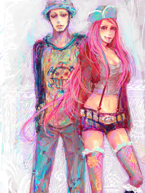 Trafalgar Law x Jewelry Bonney