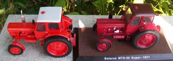 Belarus MTZ 50   Schuco et Atlas