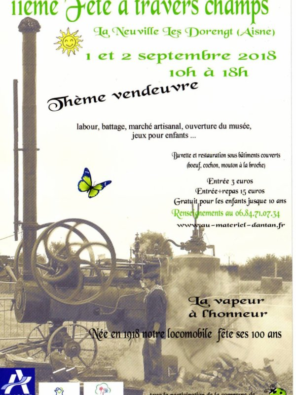 La neuville Les Dorengt 01 et 02 septembre 2018