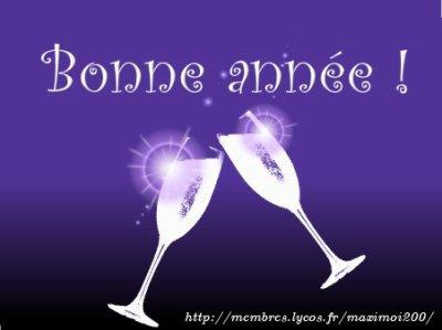 BONNE ANNEE!!