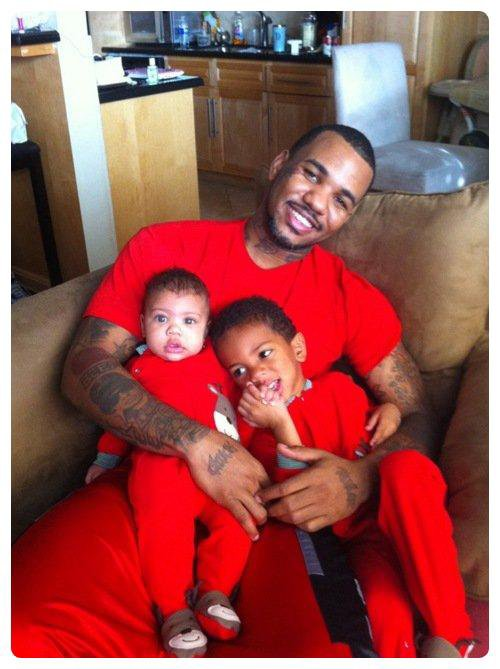 The Game & ses fils