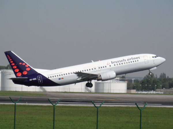 Boeing 737-43Q Brussels Airlines
