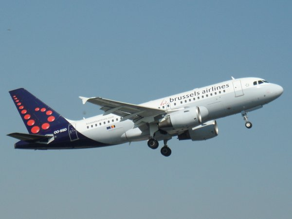 Airbus A319-112 Brussels Airlines