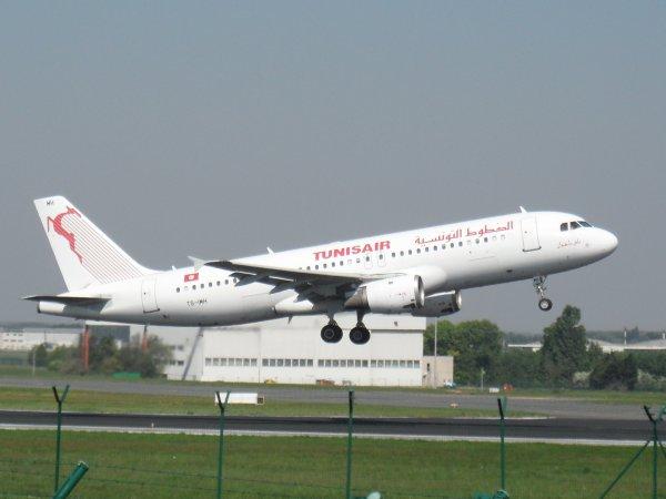 Airbus A320-211 Tunis Air