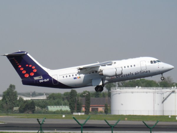Avro RJ85 Brussels Airlines