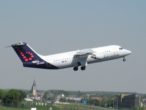 Avro RJ100 Brussels Airlines