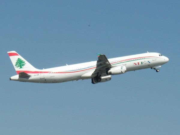 Airbus A321-231 Middle East Airlines