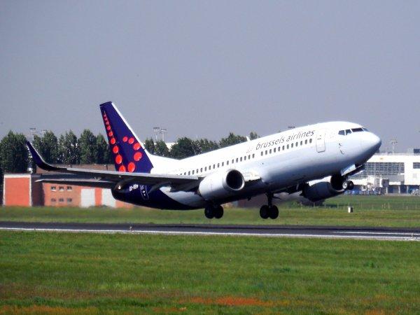 Boeing 737-36N Brussels Airlines