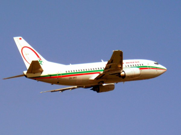 Boeing 737-5B6 Royal Air Maroc