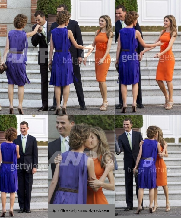 2010-07-05 première dame Asma el Assad meet with the ...