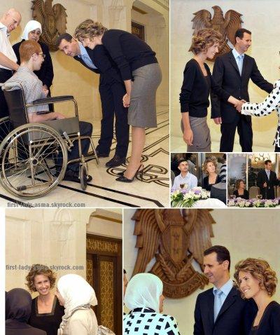 2010-09-07 asma assad un iftar en l'honneur des premiers au baccalauréat