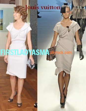 first lady asma assad-louis vuitton