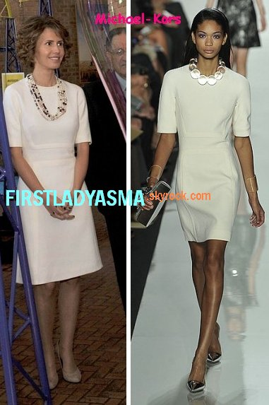 first lady asma al assad - michael kors - first lady asma ...