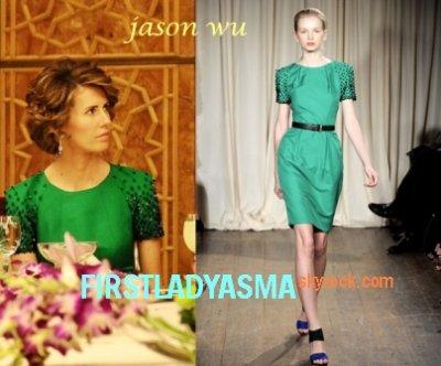 FIRST LADY ASMA ASSAD - Jason Wu