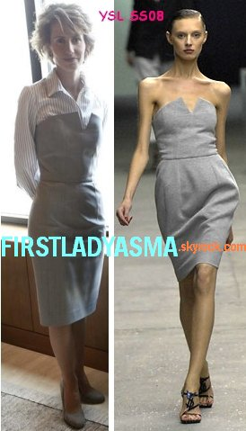 FIRST LADY ASMA ASSAD - YSL