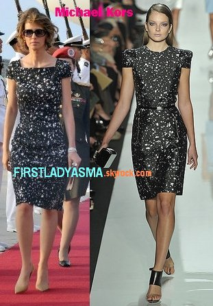 FIRST LADY ASMA ASSAD - MICHAEL KORS