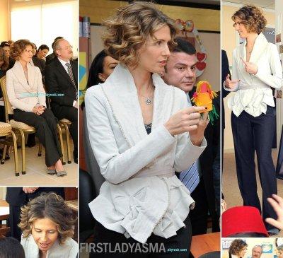2010-10-26  Mme al-Assad inaugure le centre régional du développement de l'enfance précoce à Damas