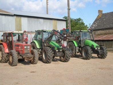 les tracteur de chez moi