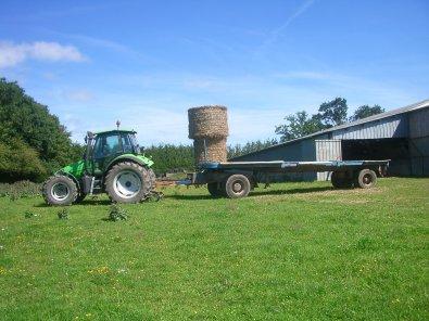 ramassage paille blé 2011