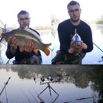 4 depart , 3 poissons