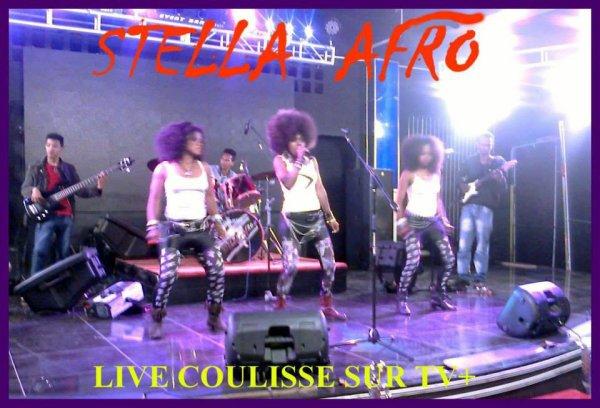 STELLA AFRO EN LIVE SUR LA TV MALGACHE TV+ émission coulisse