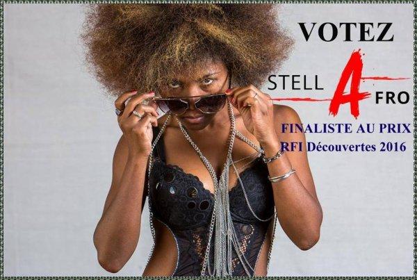 Ecoutez et votez pour STELLA  AFRO sur RFI