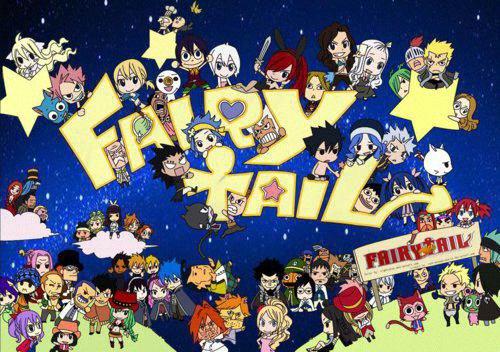 Fairy Tail,notre vie