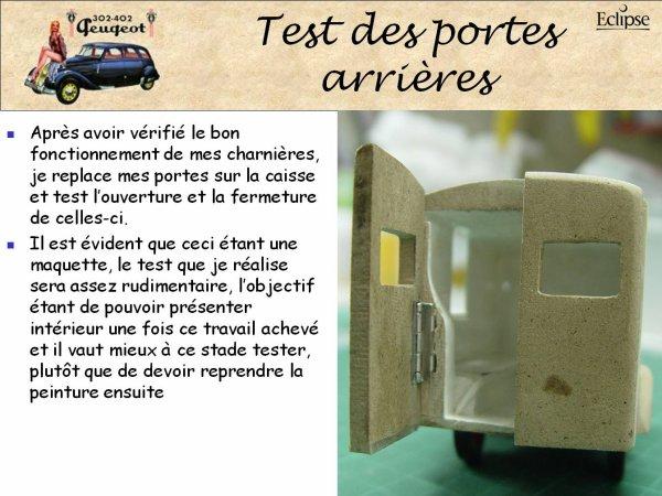 PEUGEOT 402 DK5 Ambulance du service de santé
