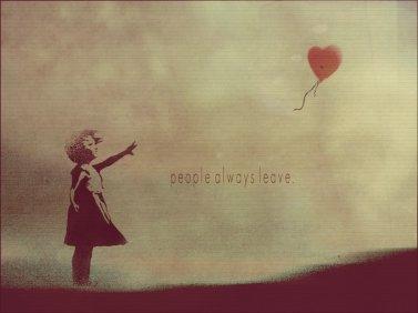 Ne jamais dire au revoir, parce que au revoir signifie partir, et partir signifie oublier.