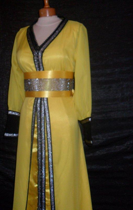 tres belle takchita jaune