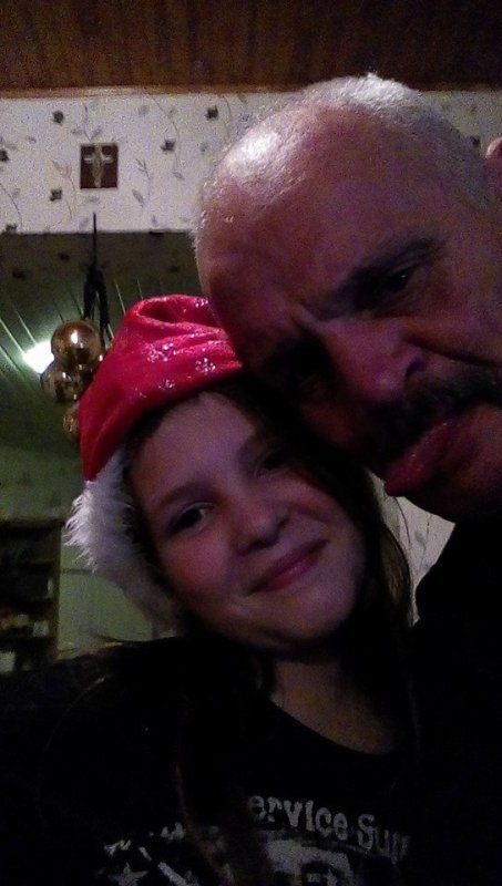 mon homme et ma fille marie