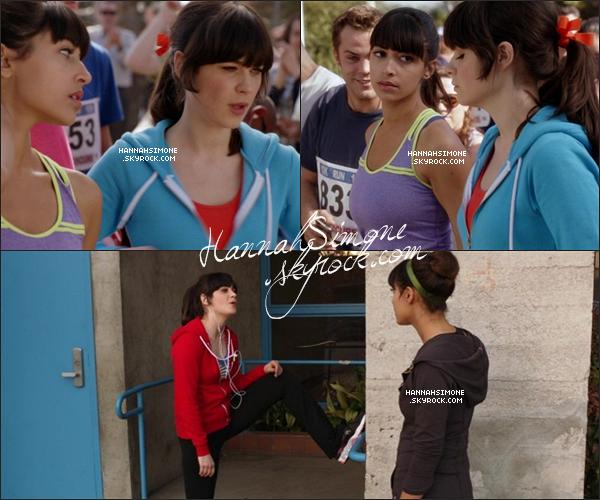 .08/04/2012 - Quelques captures de l'épisode 1x19 de New Girl. J'ai envie de dire : Hannah avec une perruque blonde, OMG ! *-*     + désolée de la MQ :/