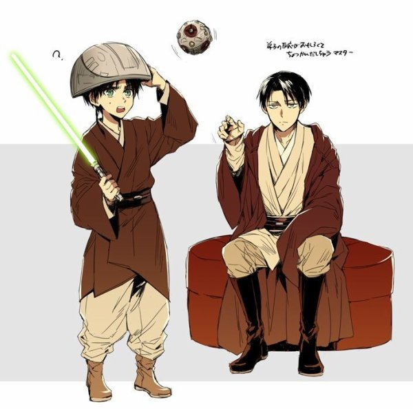 Ereri en mode Star Wars