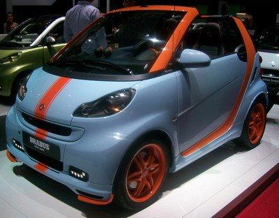 Mondial de l'automobile 2010: 2. Smart Brabus Gulf