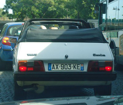 Une autre Talbot Samba cabriolet