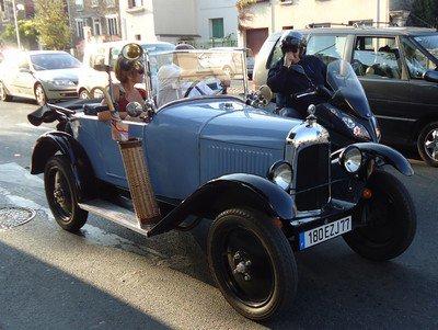 """Citroën 5cv """"trèfle"""""""