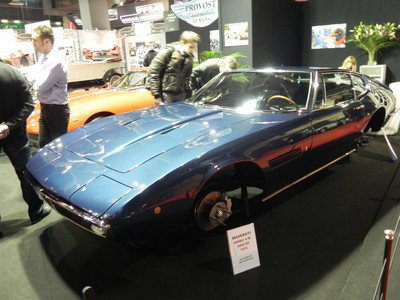 Rétromobile 2012: 1. Maserati (au pluriel)