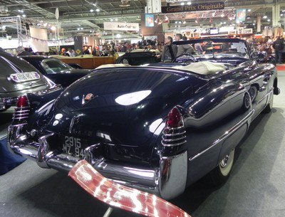Rétromobile 2012: 10. Cadillac
