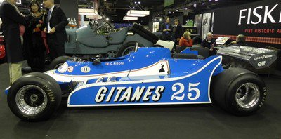 Rétromobile 2012: 13. Ligier JS11/15 ex-Didier Pironi